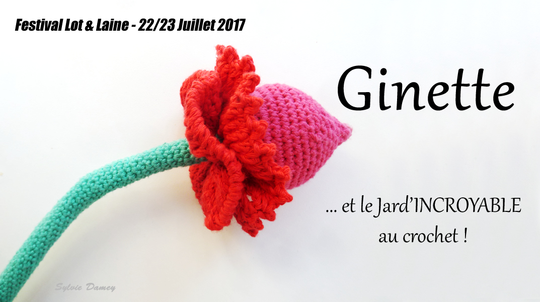 Le Jard Incroyable Au Crochet Swap De Fleurs Crochetees Au Festival