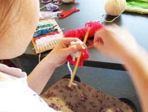 Atelier crochet Lans en Vercors - modèle de Sylvie Damey