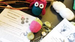 Atelier crochet amigurumi Lans en Vercors - modèle de Sylvie Damey