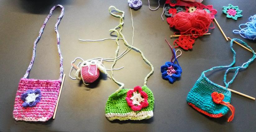 Atelier crochet Lans en Vercors - modèles de Sylvie Damey